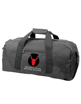 34th Infantry Division Embroidered Duffel Bag