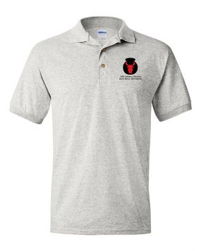 34th Infantry Division Embroidery Cotton Polo Shirt