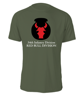 34th Infantry Division Cotton Shirt  (FF)