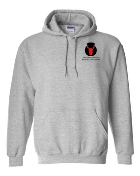 34th Infantry Division Embroidered Hooded Sweatshirt