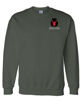 34th Infantry Division Embroidered Sweatshirt