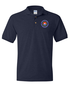 9th Infantry Division Embroidered Cotton Polo Shirt -Proud