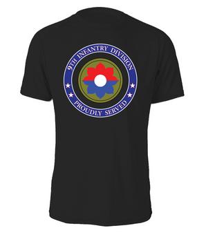 9th Infantry Division Cotton T-Shirt -Proud  (FF)