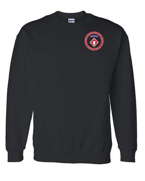 20th Engineer Brigade (Airborne) Embroidered Sweatshirt-Proud