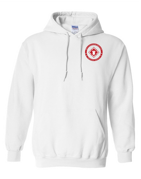 20th Engineer Brigade Embroidered Hooded Sweatshirt-Proud