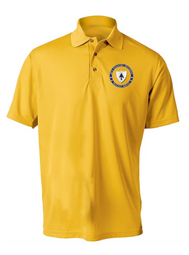 26th Infantry Regiment Embroidered Moisture Wick Polo-Proud