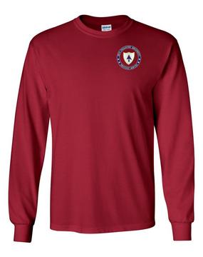 26th Infantry Regiment Long-Sleeve Cotton Shirt-Proud