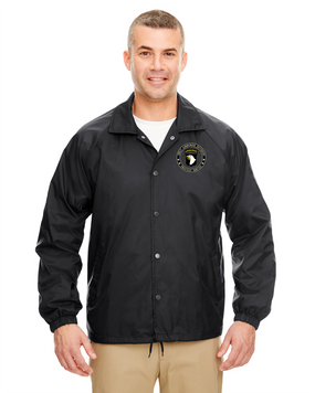 101st Airborne Division Embroidered Windbreaker -Proud