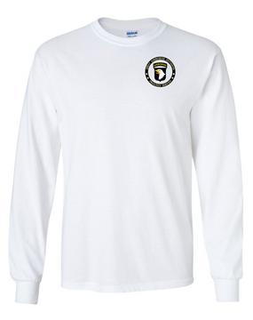 101st Airborne Division Long-Sleeve Cotton Shirt -Proud