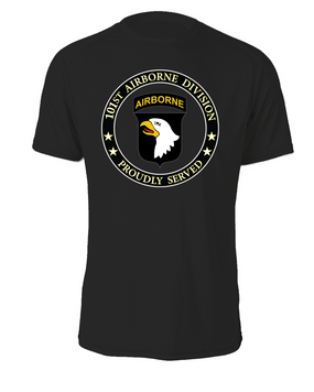 101st Airborne Division Cotton T-Shirt -Proud (FF)