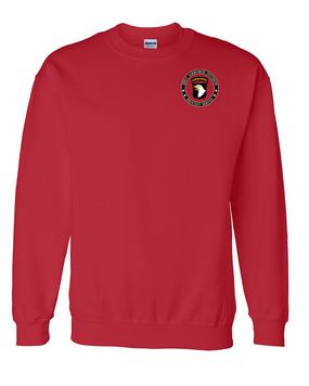 101st Airborne Division Embroidered Sweatshirt -Proud