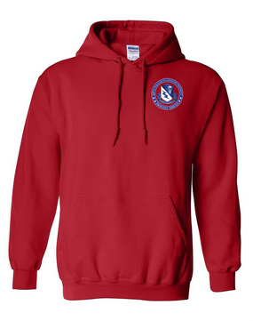 507th Parachute Infantry Regiment Embroidered Hooded Sweatshirt-Proud