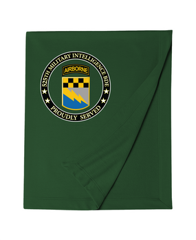 525th Expeditionary MI Brigade (Airborne) Embroidered Dryblend Stadium Blanket-Proud