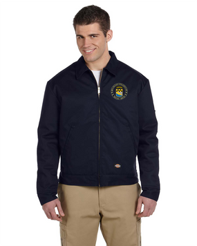 525th Expeditionary MI Brigade (Airborne) (C)  Embroidered Dickies 8 oz. Lined Eisenhower Jacket-Proud