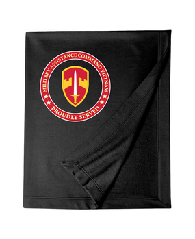 MACV Embroidered Dryblend Stadium Blanket-Proud
