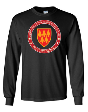 32nd Army Air Defense Command Long-Sleeve Cotton T-Shirt-Proud (FF)