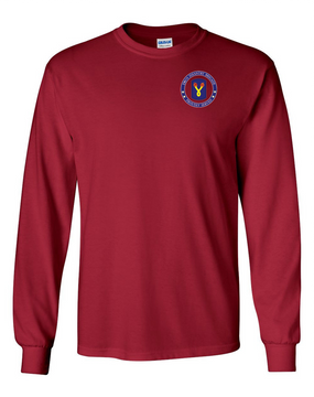 196th Light Infantry Brigade Long-Sleeve Cotton T-Shirt-Proud