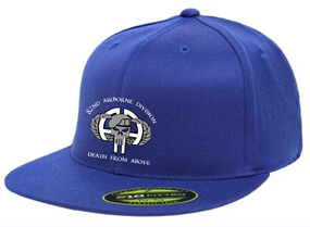 82nd Punisher Premium Embroidered Flexdfit Baseball Cap