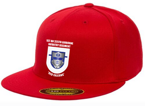 1-325th Crest Flash Embroidered Flexdfit Baseball Cap