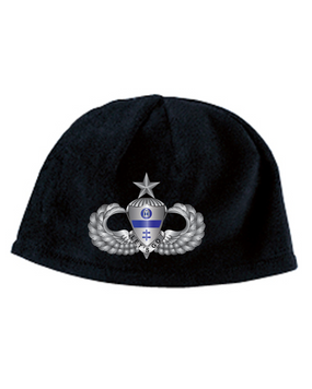 325th Senior Wings  Embroidered Fleece Beanie