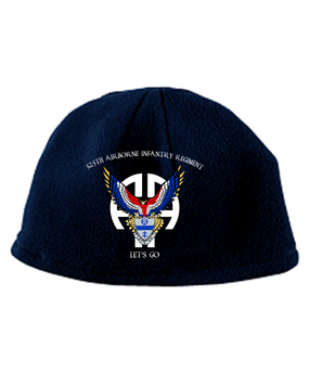 325th All American Falcon Embroidered Fleece Beanie