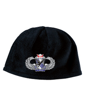 505th Basic Wings Embroidered Fleece Beanie