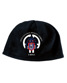 505th Panther Embroidered Fleece Beanie