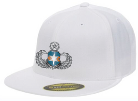 313th MI Master Wings Embroidered Flexdfit Baseball Cap
