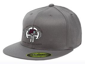 313th MI Punisher Embroidered Flexdfit Baseball Cap