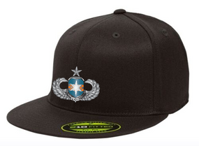 313th MI Senior Wings Embroidered Flexdfit Baseball Cap