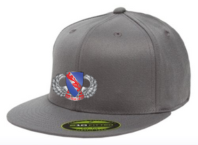 508th Basic Wings Embroidered Flexdfit Baseball Cap