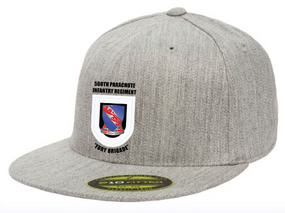 508th Crest Flash  Embroidered Flexdfit Baseball Cap