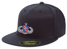 508th Senior Wings Embroidered Flexdfit Baseball Cap