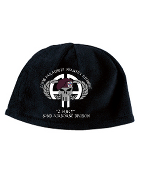 2-508 Punisher Embroidered Fleece Beanie