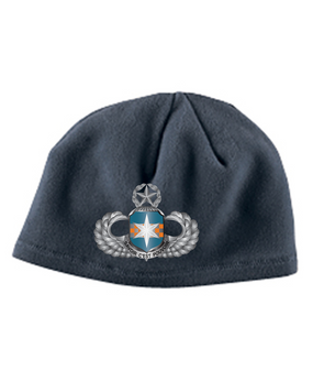 313th MI Master Wings Embroidered Fleece Beanie