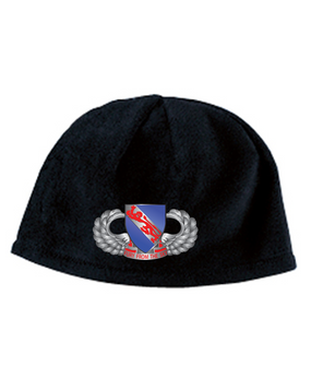 508th Basic Wings Embroidered Fleece Beanie