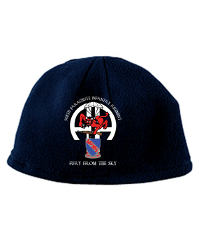 508th RED DEVIL  Embroidered Fleece Beanie