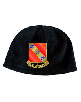 319th Crest Embroidered Fleece Beanie