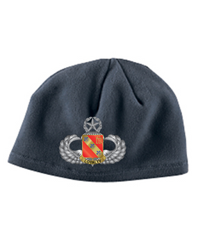 319th Master Wings Embroidered Fleece Beanie