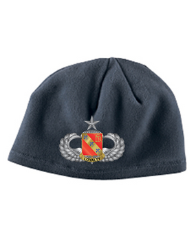 319th Senior Wings Embroidered Fleece Beanie