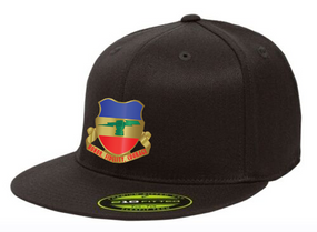 3-73rd Armor Crest Embroidered Flexdfit Baseball Cap