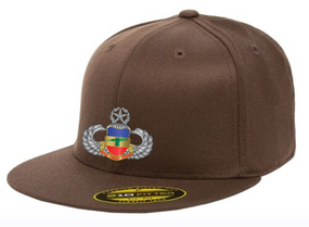 3-73rd Armor Master Wings Embroidered Flexdfit Baseball Cap