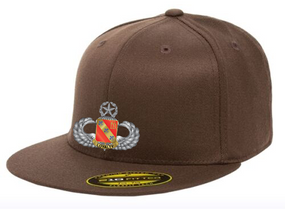 319th Master Wings Embroidered Flexdfit Baseball Cap
