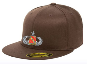 319th Senior Wings Embroidered Flexdfit Baseball Cap