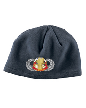 3/4 ADA Basic Wings Embroidered Fleece Beanie