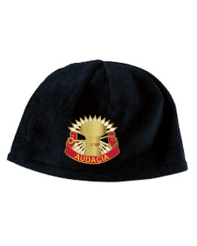 3/4 ADA Crest Embroidered Fleece Beanie