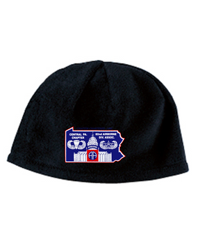 Central PA Chapter Embroidered Fleece Beanie