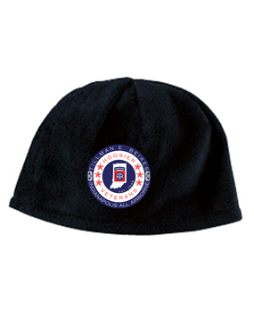 Indiana Chapter Embroidered Fleece Beanie