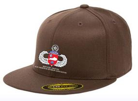 Kentucky Chapter Embroidered Flexdfit Baseball Cap V1