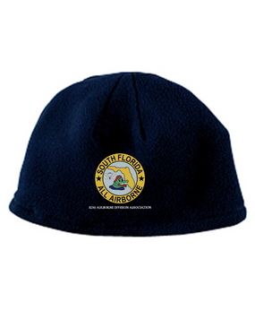South Florida Chapter Embroidered Fleece Beanie